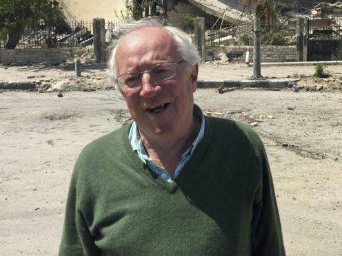 Robert Fisk has died aged 74 (AP Photo/Bassem Mroue)