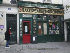 Famous Paris book store Shakespeare and Co (AP Photo/Michel Euler)