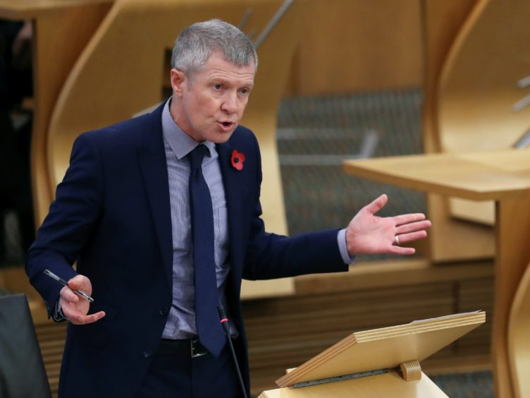 Willie Rennie said police officers face 'enormous' challenges (Russell Cheyne/PA)