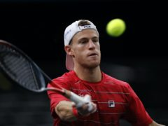 Diego Schwartzman will make his debut at the ATP Finals (Christophe Ena/AP)