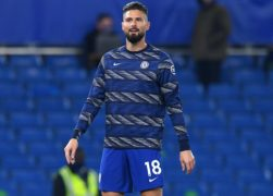 Chelsea manager Frank Lampard insists Olivier Giroud (pictured) is part of his plans despite a lack of Premier League game time this season (Ben Stansall/PA Images).