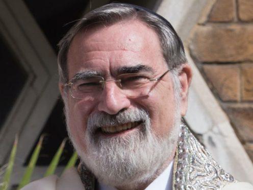 Former chief rabbi Lord Sacks (Stefan Rousseau/PA)