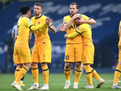 Tottenham struck late on to beat West Brom at the Hawthorns (Laurence Griffiths/PA)