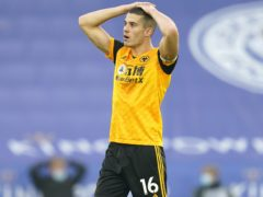 Conor Coady is a doubt for Wolves' clash with Southampton (Tim Keeton/PA)