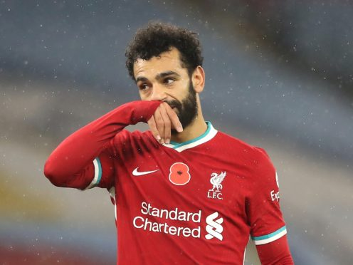 Liverpool's Mohamed Salah has tested positive for coronavirus while on international duty with Egypt (Martin Rickett/PA)