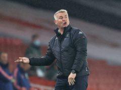 Aston Villa manager Dean Smith enjoys walking his dog Charlie (Richard Heathcote/PA)