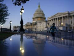 The Senate side of the Capitol is seen in Washington (J. Scott Applewhite/AP)