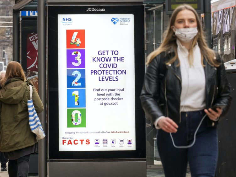 The five-level system came into effect on November 2 (Jane Barlow/PA)
