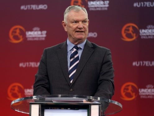 Greg Clarke has stood down from his FIFA vice-presidency (Tim Goode/PA)