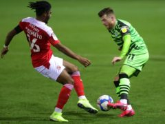 Nicky Cadden scored a late equaliser for Forest Green (David Davies/PA)