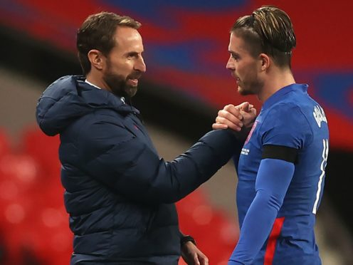 Jack Grealish is expected to feature for a third successive England game for manager Gareth Southgate (Carl Recine/PA)