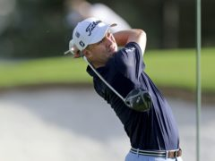 Justin Thomas was among those chasing clubhouse leader Paul Casey on day two of the Masters (Curtis Compton/Atlanta Journal-Constitution via AP)