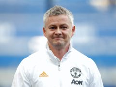 Manchester United manager Ole Gunnar Solskjaer was relieved to win their first home league match of the season (Clive Brunskill/PA)