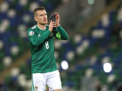 Steven Davis has left the Northern Ireland squad due to personal reasons (Brian Lawless/PA)