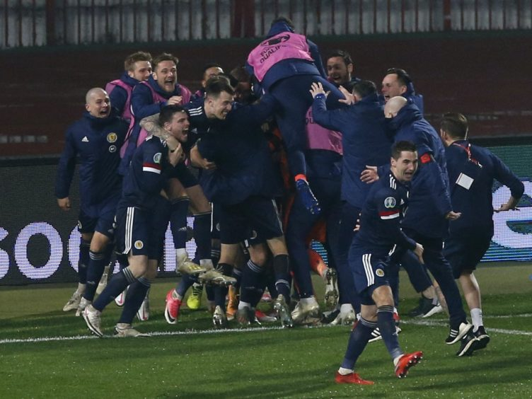 The Deputy First Minister congratulated the Scotland team (Novak Djurovic/PA)