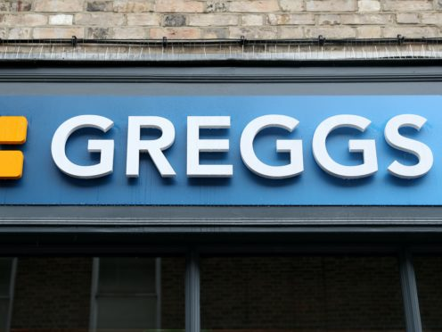 A man has robbed a Greggs bakery (Andrew Matthews/PA)