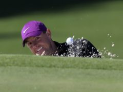 Rory McIlroy carded a third round of 68 in the Masters (Curtis Compton/Atlanta Journal-Constitution via AP)