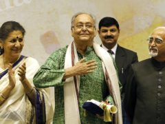 Soumitra Chatterjee has died aged 85 (Manish Swarup/AP)