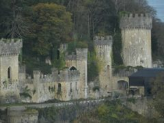 Gwrych Castle in Abergele, North Wales, ahead of the launch of the new series of I'm A Celebrity… Get Me Out Of Here! (PA)