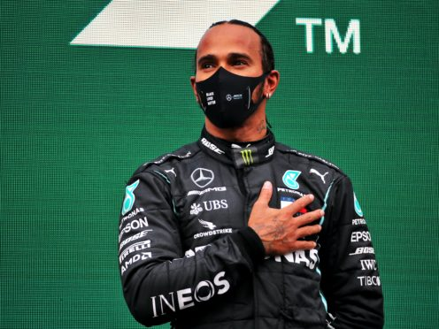 Lewis Hamilton has won a record-equalling seventh Formula One world championship this year (PA)