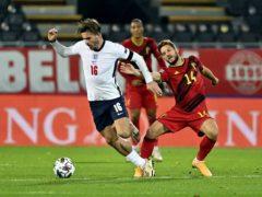 Jack Grealish earned praise from Gareth Southgate (Dirk Waem/Belga/PA)