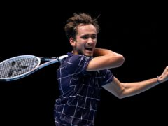Daniil Medvedev claimed his first victory at The O2 (John Walton/PA)
