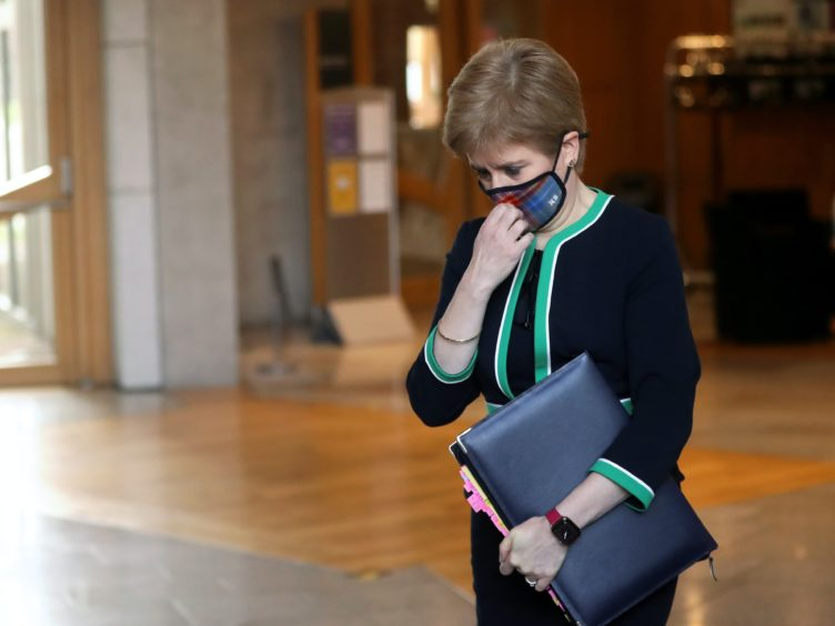 The First Minister announced the change during a statement to MSPs on Tuesday (Russell Cheyne/PA)