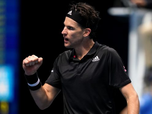 Dominic Thiem produced one of the performances of his career against Rafael Nadal (John Walton/PA)