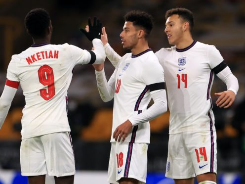 England Under-21s wrapped up their Euro 2021 qualifying campaign with a comfortable win over Albania (Mike Egerton/PA)