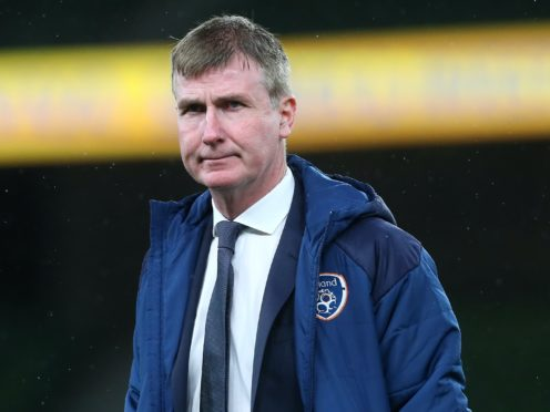 Republic of Ireland manager Stephen Kenny is confident his team will be better for a difficult three months (Brian Lawless/PA)