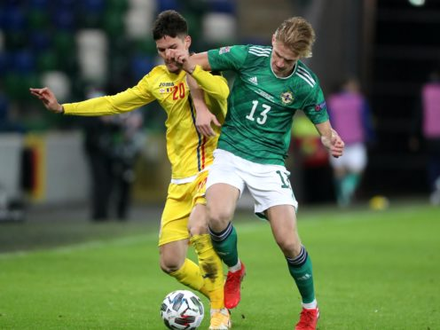 Northern Ireland were held to a draw by Romania as they dropped out of League B (Niall Carson/PA)