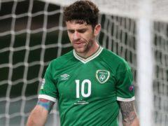 Robbie Brady picked up an injury on international duty this week (Brian Lawless/PA)