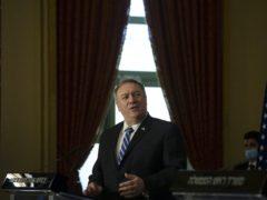 US Secretary of State Mike Pompeo (Maya Alleruzzo/AP)