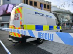 Six people were injured in a 'large disturbance' in Cardiff city centre (Ben Birchall/PA)