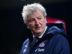 Roy Hodgson watched his Crystal Palace side lose at Turf Moor (Michael Regan/PA)