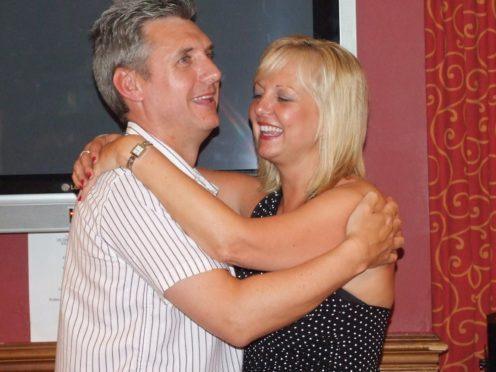 John and Michelle Davies (Irwin Mitchell/PA)