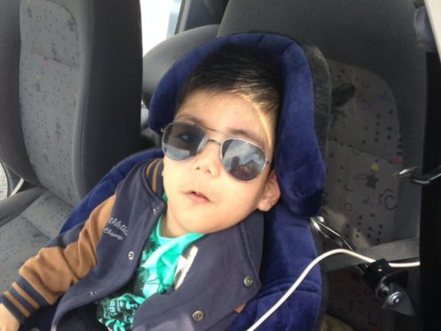 Fehzan Jamil, 10, who is thought to be one of the youngest victims of Covid-19 in the UK (Family handout/Channel 4 News)