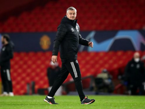 Ole Gunnar Solskjaer is guarded against celebrating qualification too soon (Martin Rickett/PA)