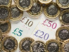 London residents can access sources of cash within 326m on average – while communities in Scotland, the South West of England and Wales typically have to travel more than 600m, according to a report (Dominic Lipinski/PA)