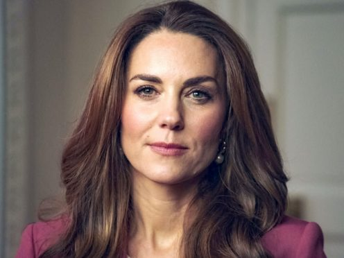 The Duchess of Cambridge delivering her keynote speech at The Royal Foundation's Forum on the Early Years (Kensington Palace)