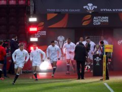 England defeated Wales at Parc y Scarlets to finish top of Group A (David Davies/PA)