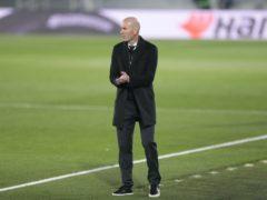Real Madrid head coach Zinedine Zidane felt his side had made things complicated for themselves at Alfredo di Stefano stadium (Bernat Armangue/AP)
