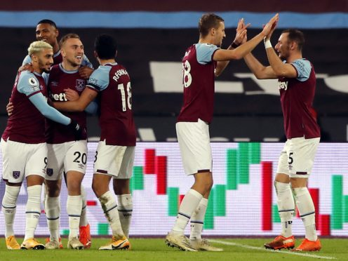 West Ham have made their best start to a season since moving to the London Stadium (Frank Augstein/PA)