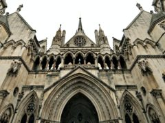 A woman accused a High Court judge of holding 'outdated' views (Anthony Devlin/PA)