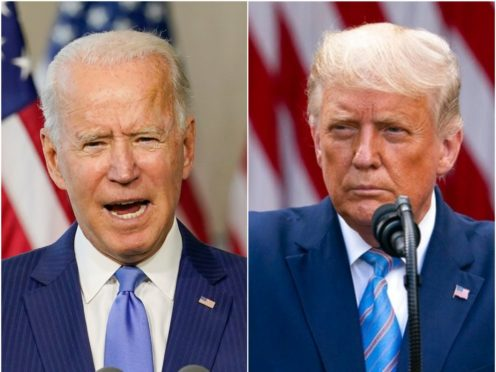 Joe Biden and Donald Trump (Carolyn Kaster/Evan Vucci/AP)