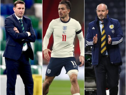 Ian Baraclough, Jack Grealish and Steve Clarke will all hope to enjoy positive results during the November international week