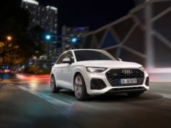 The SQ5 has been given a light facelift