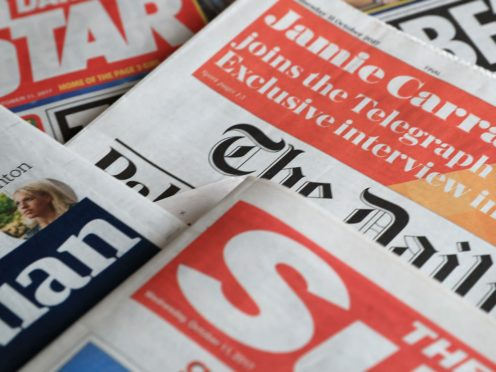 What the papers say – November 23 (PA)