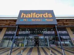 Halfords has been boosted by higher bike sales (Halfords/PA)