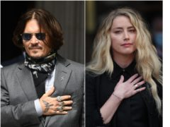 Johnny Depp and Amber Heard (Kirsty O'Connor/Yui Mok/PA)